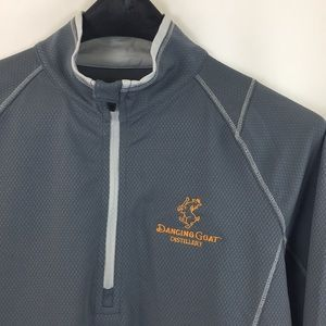 Dancing Goat Polyester 1/4 zip Pullover